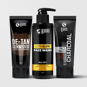 Beardo Ultimate Facewash Combo