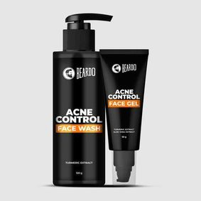Beardo Acne Control Facewash & Acne Control Face Gel Combo