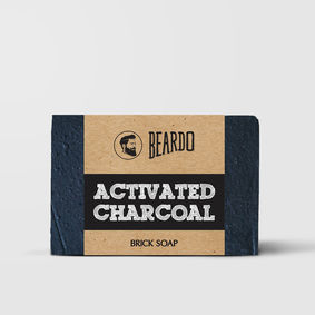 Beardo Activated Charcoal Brick Soap (1 unit)