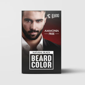 Beardo Beard Color for Men - Natural Black (60ml)