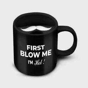 Beardo Mooch Swag Black Mug