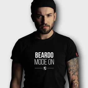 Beardo T-shirt BEARDO MODE ON (S)