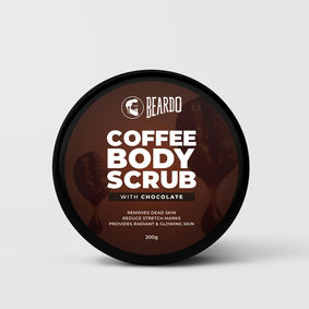 Beardo Coffee Body Scrub for Men (200g)