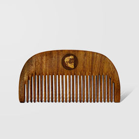 Beardo Compact Sheesham Beard Comb