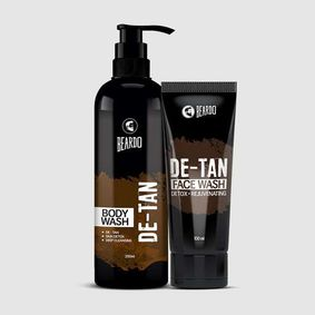 Beardo De-Tan Bodywash & De-Tan Facewash Combo