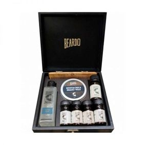 Beardo Holiday Gift Set (Wooden Box)