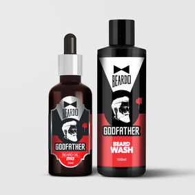 Beardo Godfather Combo (Godfather Oil 30ml, Godfather Wash 100ml)