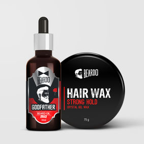 Beardo Hair & Beard Styling Duo Combo