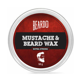 Beardo Beard & Mustache Wax - Extra Strong (50g)