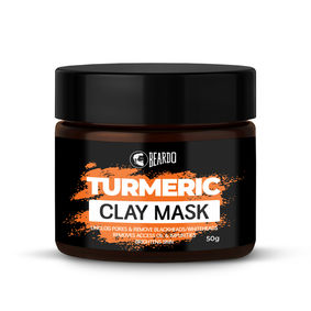 Beardo Turmeric Clay Mask for Men (50g)