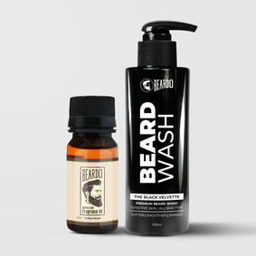 Beardo The Black Velvette Beard Oil (30 ml) & Beardo wash Combo (100 ml)