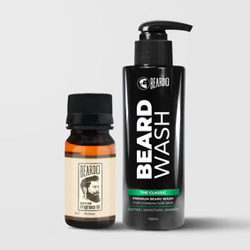 Beardo The Classic Beard Oil (30ml) & Beard Wash Combo (100ml)