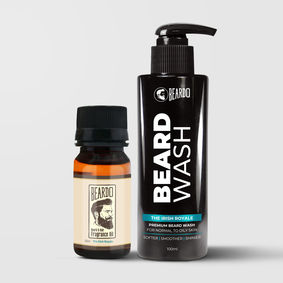 Beardo The Irish Royale Beard Oil (30ml) & Beard Wash Combo (100ml)