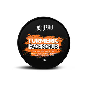 Beardo Turmeric Face Scrub for Men (100g)