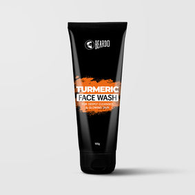 Beardo Turmeric Facewash for Men (100g)