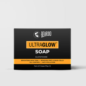Beardo Ultraglow Soap (Set of 3)