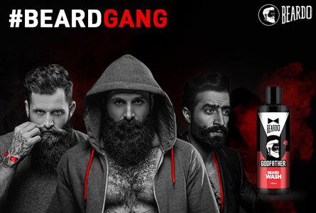 Buy Online Beardo Godfather Beard Wash