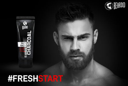 Keep your face clean, clear and fresh with Beardo activated charcoal facewash