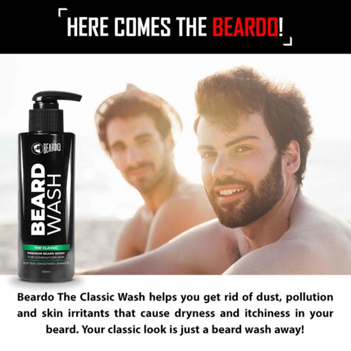 Beardo The Classic Wash (100ml)