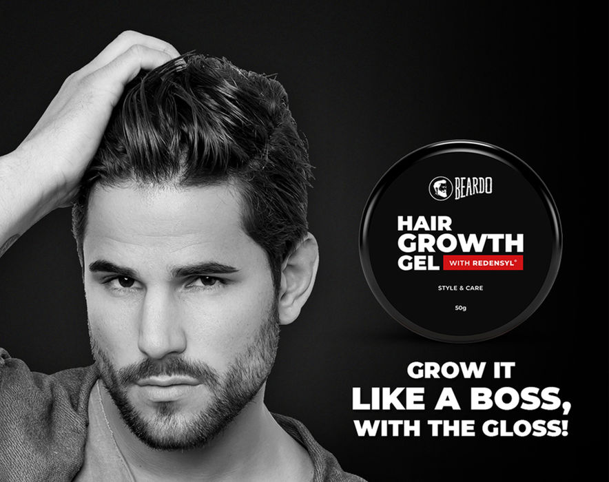 Beardo Hair Growth Gel for Men (50g)