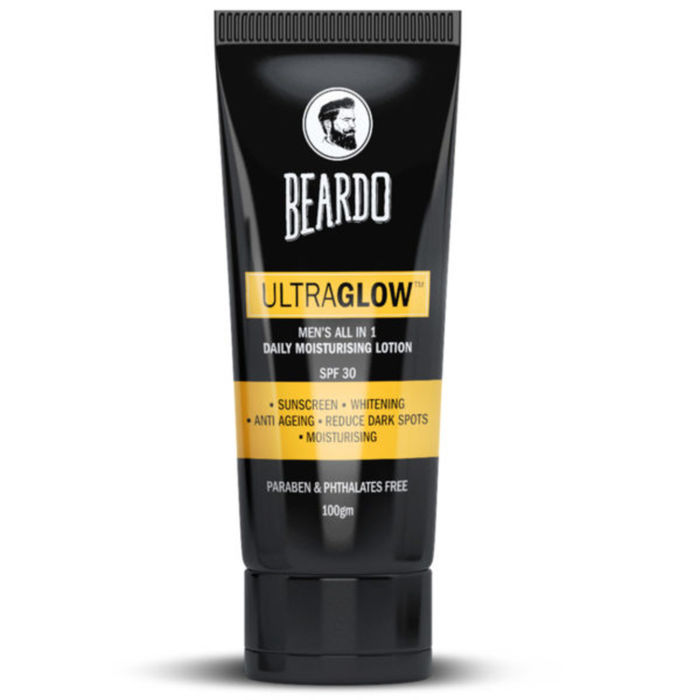 BEARDO ultra glow face lotion for men