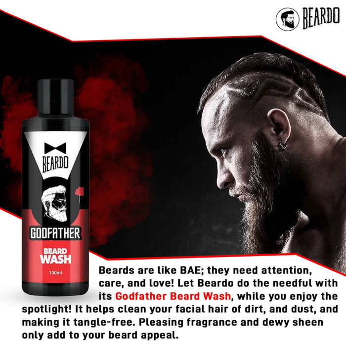 Beardo Godfather Beard Wash