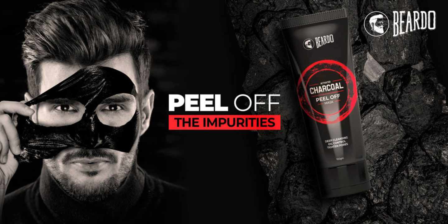 Buy Beardo Charcol Peel Off Mask