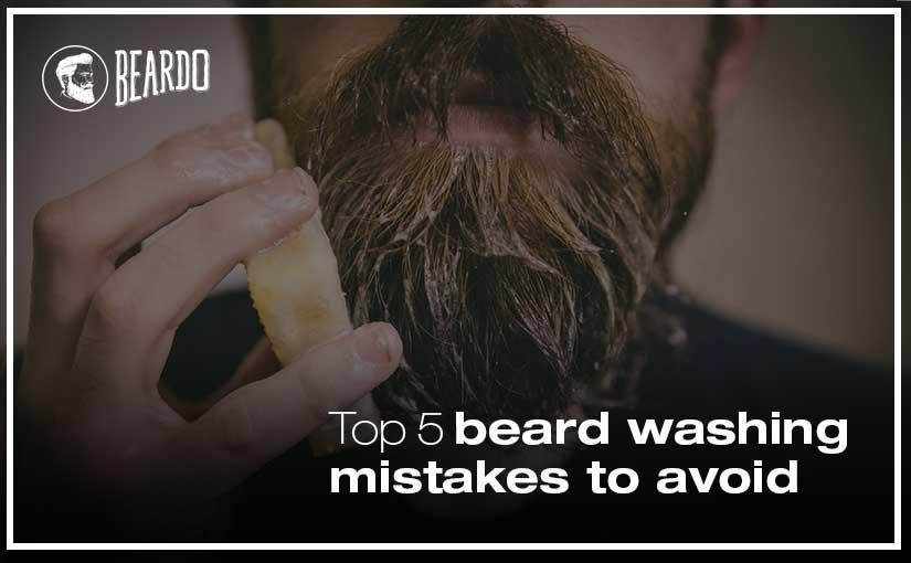 Top 5 beard washing mistakes to avoid