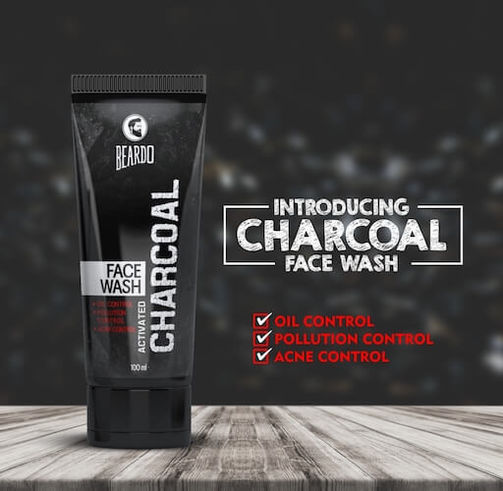 Beardo Activated Charcoal Facewash