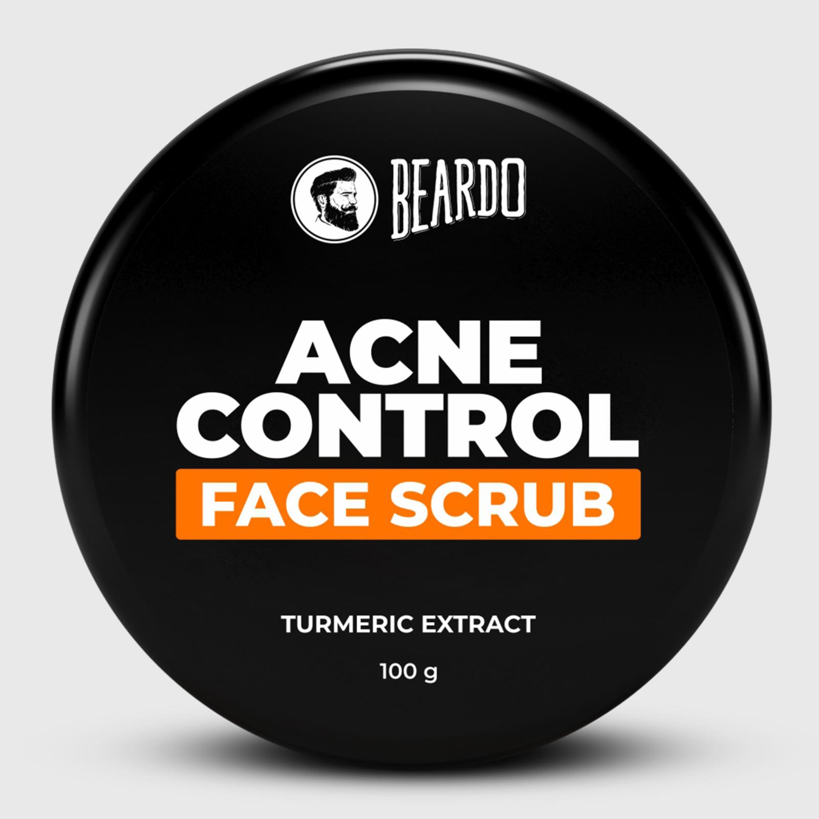 Beardo Acne Control Face Scrub (100g)