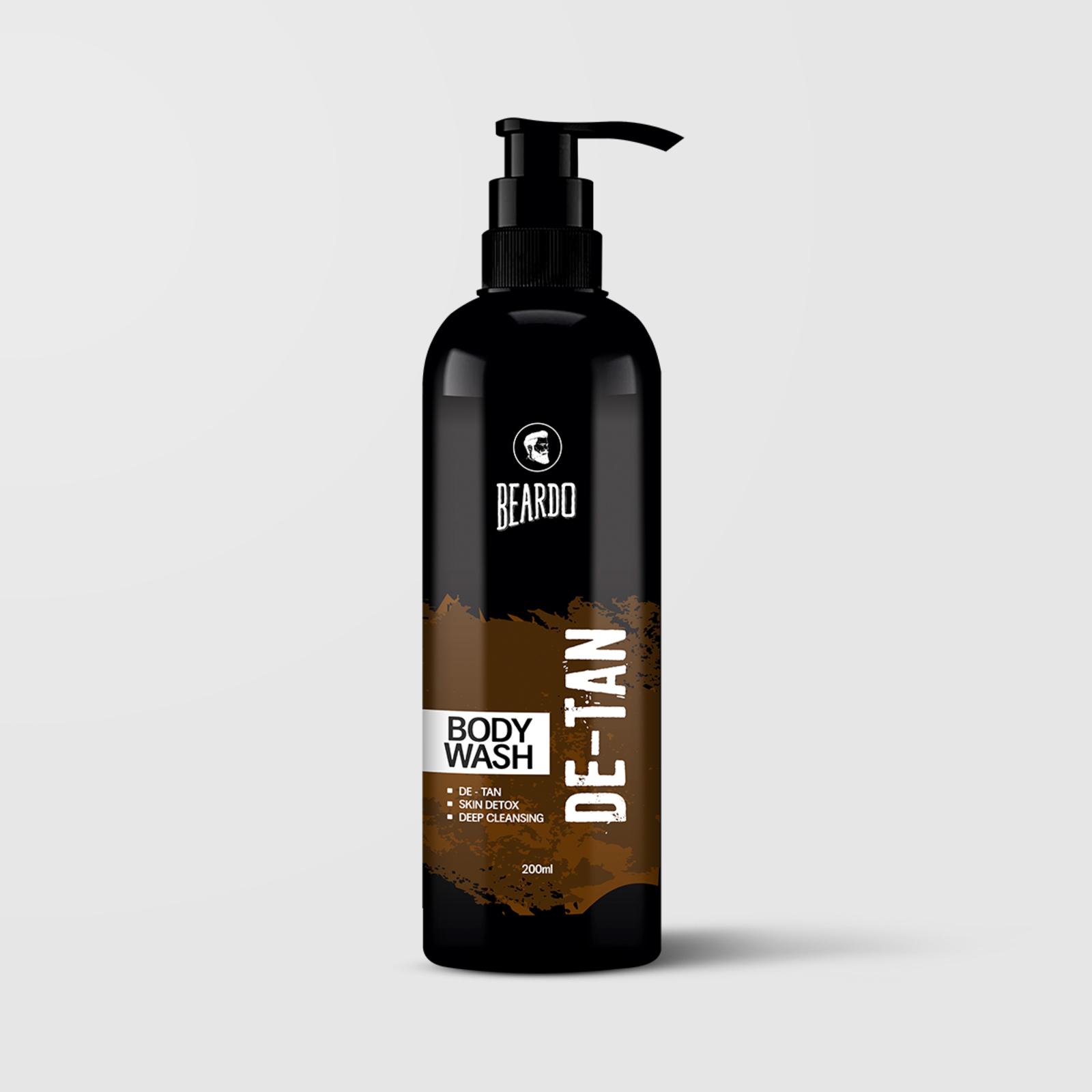 Beardo De-Tan Bodywash for Men (Pack of 3)