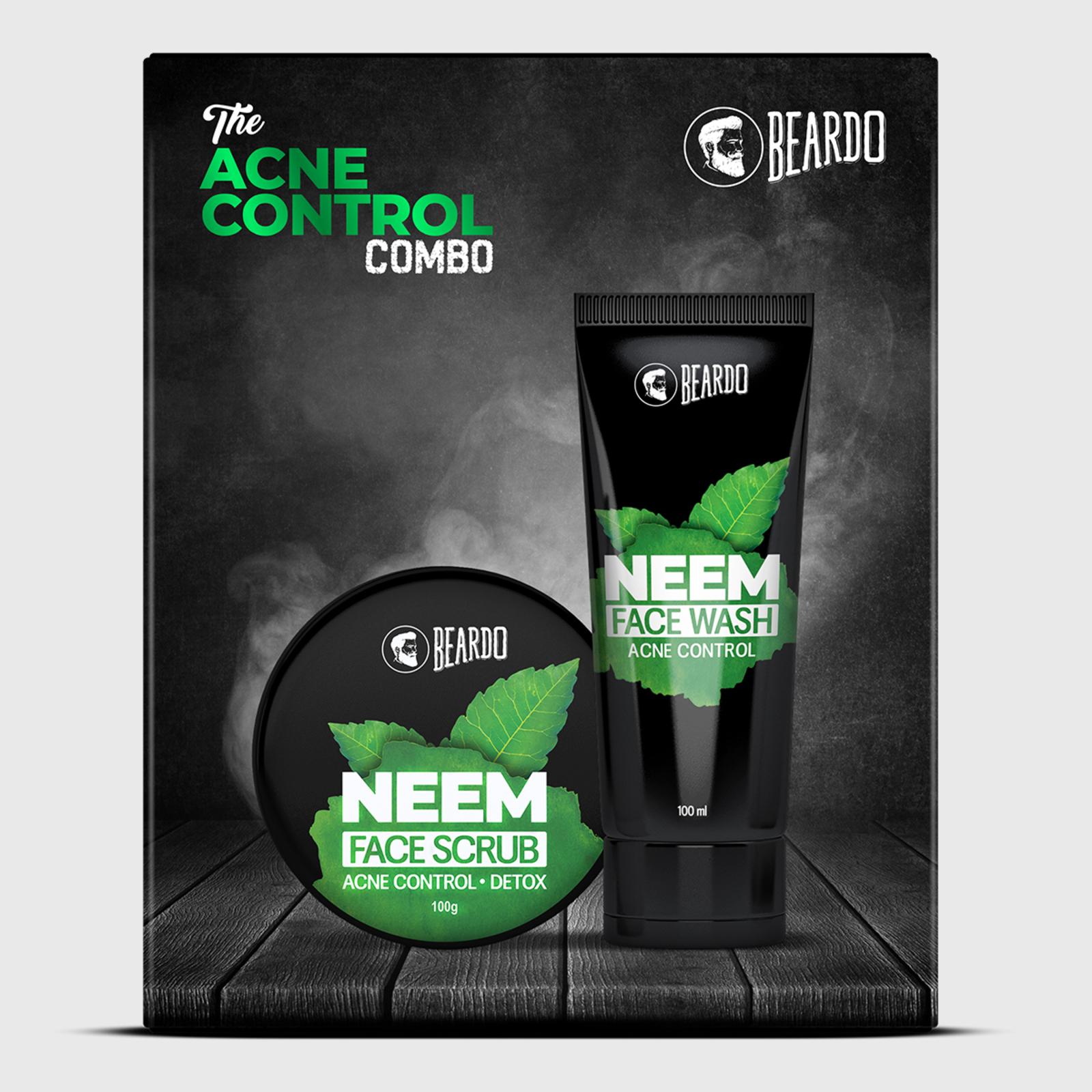 Beardo The Acne Control Neem Combo for Men