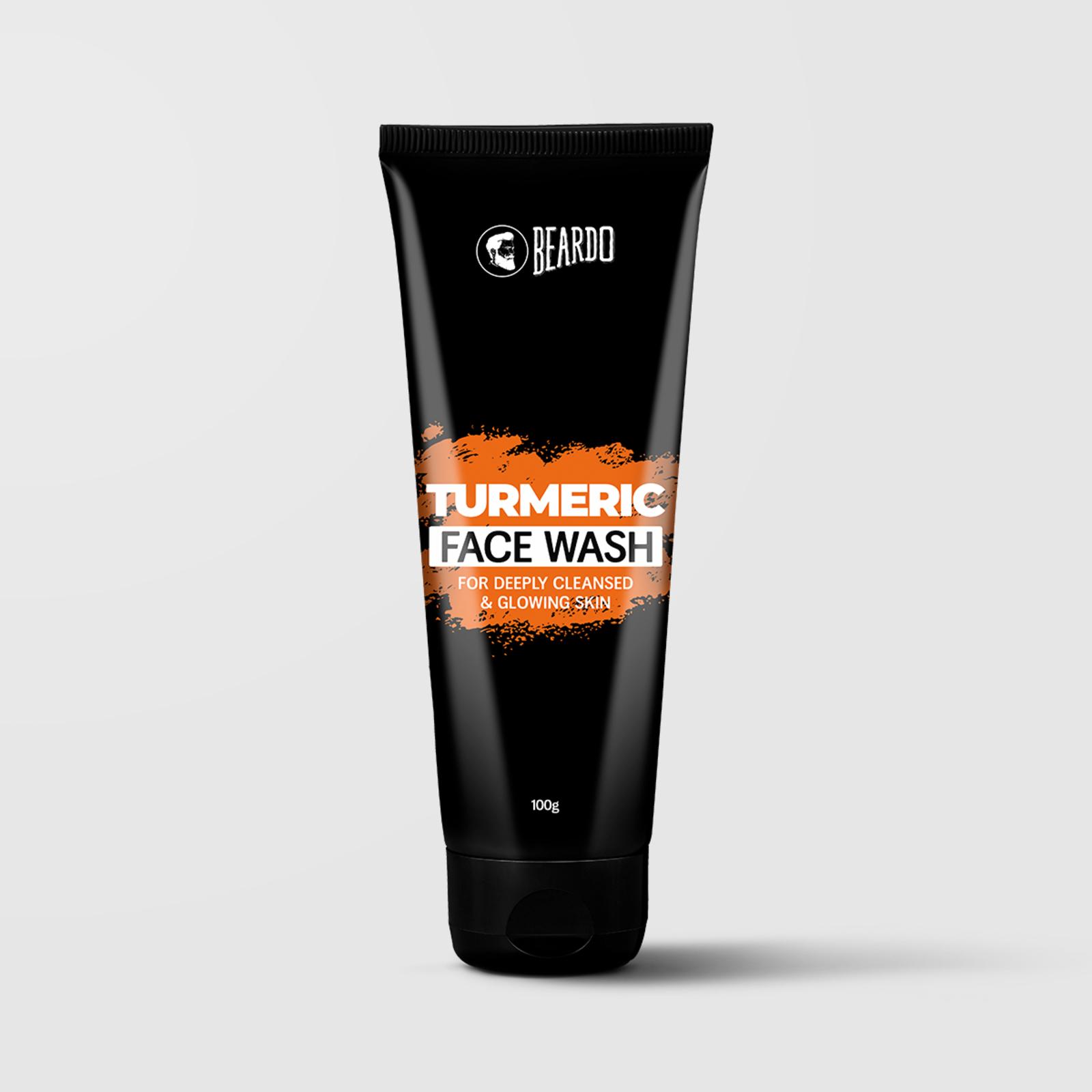 Beardo Turmeric Facewash for Men (2 Units)