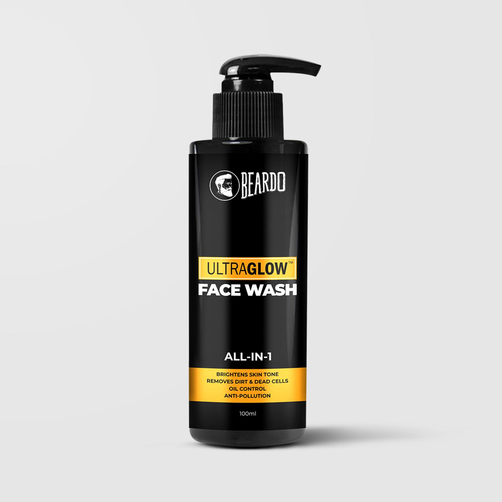 Beardo Ultraglow Facewash for Men (2 Units)