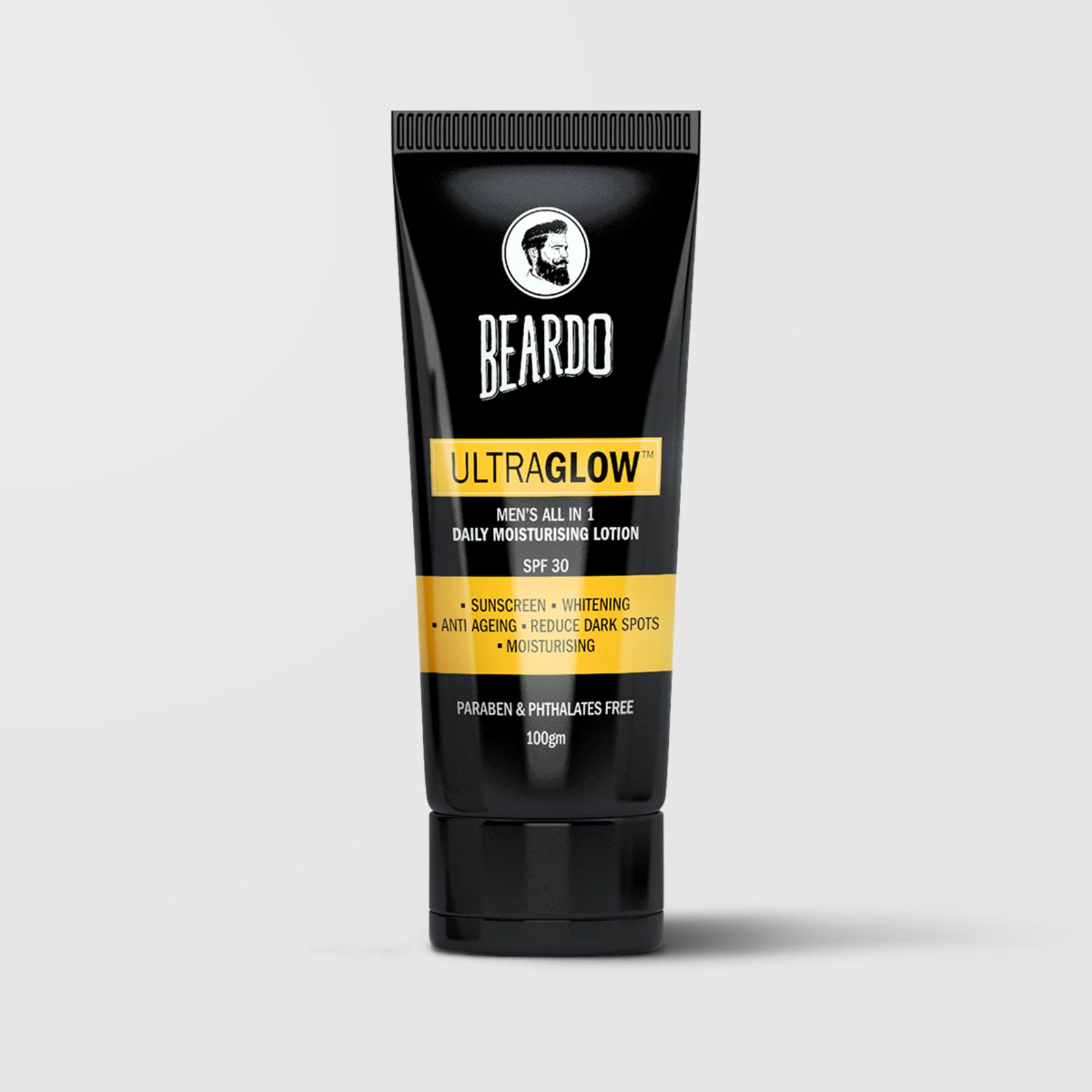 Beardo Ultraglow All in 1 Men's Face Lotion (2 Units)
