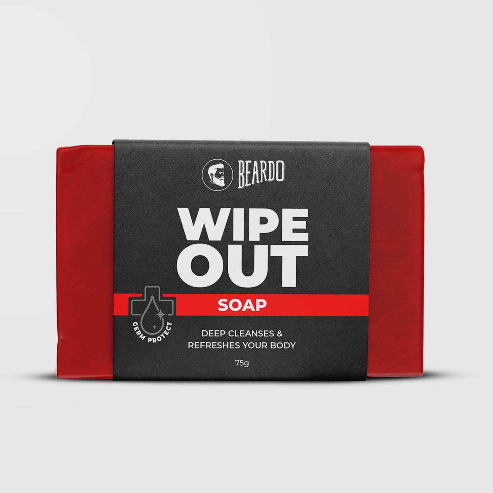 Beardo Wipeout Soap (Pack of 3)