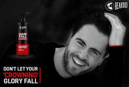 Beardo Hair Fall Control Shampoo - Best Shampoo for Hair Fall