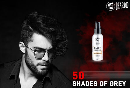 Make your hair grow faster and thicker with Beardo Hair Serum.
