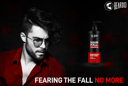 Beardo Hair Fall Control Shampoo – Best shampoo for hair growth faster
