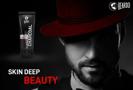 Beardo activated charcoal facewash for ultimate care of face