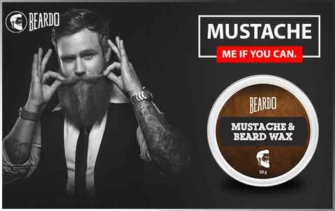 Buy Beardo Beard and Mustache Wax to grow beard naturally.
