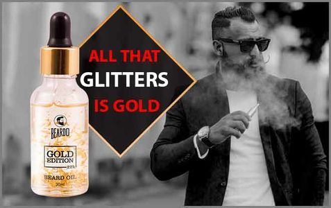 Beardo Gold Oil is the perfect solution to get beard growth.