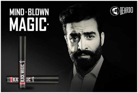 Beardo Black Magic Temporary Hair Color is a staple men's grooming product.