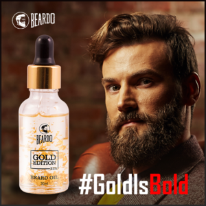 Get Beardo Beard Gold Oil online in India