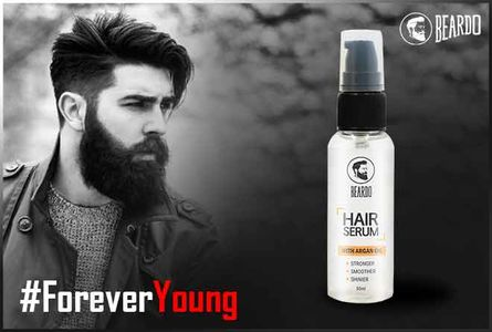 Prevent hair fall with Beardo Hair Serum.