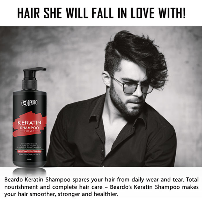 Beardo Keratin Shampoo for Men